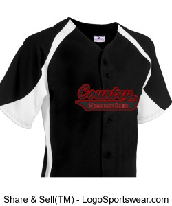 CMB Baseball Jersey Design Zoom